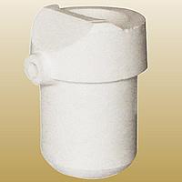 Quarz Schmelztiegel, weiß, 59x90mm, 2PCs/Menge, verkauft von Menge