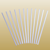 Quarz Glasstab, weiß, 10x400mm, 6PCs/Menge, verkauft von Menge