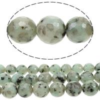 Lotus Jaspis Perlen, Lotos Jaspis, rund, Weitere Größen für Wahl & facettierte, Bohrung:ca. 1mm, verkauft von Menge