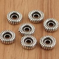 Thailand Zwischenperlen, flache Runde, 9x2.8mm, Bohrung:ca. 2mm, 5PCs/Tasche, verkauft von Tasche