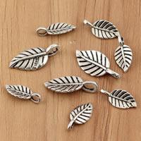 Bali Sterling Silber Anhänger, Thailand, Blatt, verschiedene Größen vorhanden, verkauft von Tasche