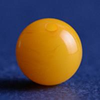 Baltikum gelber Amber Perle, rund, gelb, Grade AAAAAA, 8mm, Bohrung:ca. 1mm, 8PCs/Menge, verkauft von Menge