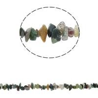 Natürliche Indian Achat Perlen, Indischer Achat, Klumpen, 5-8mm, Bohrung:ca. 0.8mm, ca. 260PCs/Strang, verkauft per ca. 33.8 ZollInch Strang