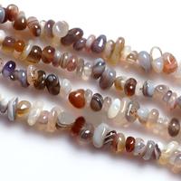 Natürliche Botswana Achat Perlen, Klumpen, 4-7mm, Bohrung:ca. 1-2mm, Länge:ca. 15 ZollInch, 10SträngeStrang/Menge, 120PCs/Strang, verkauft von Menge