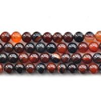 Natürliche traumhafte Achat Perlen, Traumhafter Achat, rund, verschiedene Größen vorhanden, Länge:ca. 15 ZollInch, verkauft von Menge