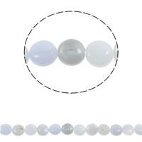 Natürliche violette Achat Perlen, Violetter Achat, flache Runde, 10x10x5mm, Bohrung:ca. 1.5mm, ca. 38PCs/Strang, verkauft per ca. 15.7 ZollInch Strang