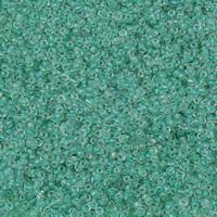 Innen Farben Glas Rocailles, Glas-Rocailles, rund, keine, 2x1.9mm, Bohrung:ca. 1mm, ca. 30000PCs/Tasche, verkauft von Tasche