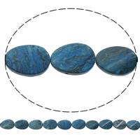 Sodalith Perlen, Sosalith, Twist, natürlich, 18x24x6mm, Bohrung:ca. 1mm, Länge:ca. 15 ZollInch, 5SträngeStrang/Tasche, ca. 16PCs/Strang, verkauft von Tasche