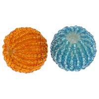 Gewebte Glasperlen, Glas-Rocailles, mit Acryl, rund, handgemacht, keine, 20mm, Bohrung:ca. 3mm, 100PCs/Tasche, verkauft von Tasche