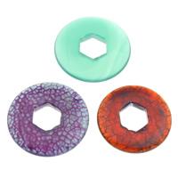 Mischedelstein Perlen, Edelstein, natürlich, gemischt, 25x4mm-30x6mm, Bohrung:ca. 8mm, 10PCs/Tasche, verkauft von Tasche