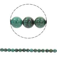 Natürliche Feuerachat Perlen, Freuer Knistern Achat, rund, synthetisch, verschiedene Größen vorhanden, Bohrung:ca. 1mm, verkauft per ca. 15.5 ZollInch Strang