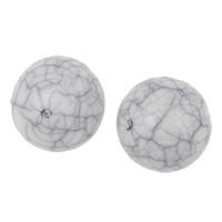 Eis-Flake-Acryl-Perlen, Acryl, rund, Eis Flocke, weiß, 10mm, Bohrung:ca. 1mm, 2Taschen/Menge, ca. 950PCs/Tasche, verkauft von Menge