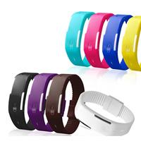 LED Armbanduhr, TPU Kunststoff, keine, 20mm, Länge:ca. 9.5 ZollInch, verkauft von PC