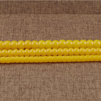 Imitierter Bernstein Harz Perlen, Trommel, Nachahmung Bienenwachs & verschiedene Größen vorhanden, Bohrung:ca. 1.5mm, Länge:ca. 15.5 ZollInch, verkauft von Menge