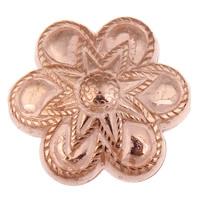 Acryl Schmuck Perlen, Blume, originale Farbe, 26x24x11mm, Bohrung:ca. 1mm, ca. 150PCs/Tasche, verkauft von Tasche
