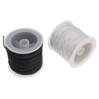 Wachsschnur, Gewachste Hanfschnur, mit Kunststoffspule, keine, 1mm, ca. 30HofHof/Spule, verkauft von Spule