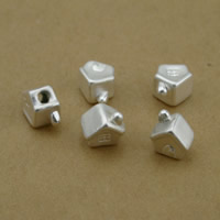 99% Perle, Haus, plattiert, keine, frei von Nickel, Blei & Kadmium, 7x9x9mm, Bohrung:ca. 2mm, 10PCs/Menge, verkauft von Menge