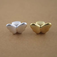 99% Diacharme, Schmetterling, plattiert, keine, 9x9x14.50mm, Bohrung:ca. 4mm, 10PCs/Menge, verkauft von Menge