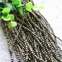 Dalmatinische Perlen, Dalmatiner, rund, natürlich, verschiedene Größen vorhanden, Bohrung:ca. 1mm, Länge:ca. 15.7 ZollInch, verkauft von Menge