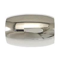 Edelstahl Magnetverschluss, oval, originale Farbe, 19x14mm, Bohrung:ca. 9mm, verkauft von PC