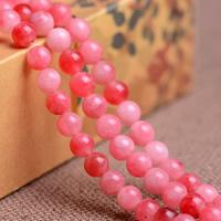 Karneolstein Perle, rund, natürlich, verschiedene Größen vorhanden, Grade AAAAAA, Bohrung:ca. 1mm, verkauft per ca. 14.3 ZollInch Strang