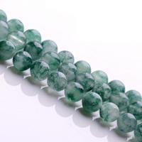 Natürliche Moos Achat Perlen, rund, verschiedene Größen vorhanden, Grade AAAAA, Bohrung:ca. 1mm, verkauft per ca. 15.5 ZollInch Strang