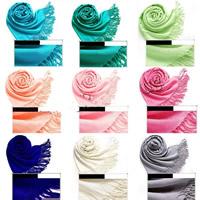 Viskose Schal und Umschlagtuch, keine, frei von Nickel, Blei & Kadmium, 70x190cm, verkauft von Strang