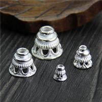 925 Sterling Silber Perlenkappe, verschiedene Größen vorhanden, verkauft von Menge