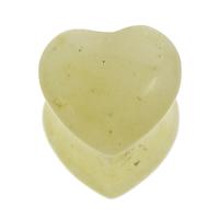 Natürliche gelbe Achat Perlen, Gelber Achat, Herz, 9x9x10mm-9x10x10mm, Bohrung:ca. 1mm, 50PCs/Tasche, verkauft von Tasche