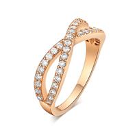 Gets® Finger Ring, Messing, vergoldet, verschiedene Größen vorhanden, frei von Nickel, Blei & Kadmium, 6mm, verkauft von PC