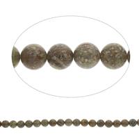 Unakit Perlen, Unakite, rund, 10mm, Bohrung:ca. 1mm, Länge:ca. 15 ZollInch, 5SträngeStrang/Tasche, ca. 40PCs/Strang, verkauft von Tasche