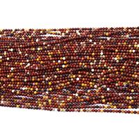 Dotter Stein Perlen, rund, natürlich, verschiedene Größen vorhanden, Bohrung:ca. 0.5mm, Länge:ca. 16.5 ZollInch, verkauft von Menge