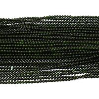 grüner Goldsandstein Perle, rund, verschiedene Größen vorhanden, grün, Bohrung:ca. 0.5mm, Länge:ca. 16 ZollInch, verkauft von Menge