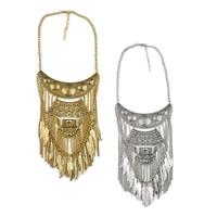Mode Statement Halskette, Zinklegierung, mit Verlängerungskettchen von 2.7lnch, plattiert, Twist oval & Schwärzen, keine, 90mm, Länge:ca. 17.7 ZollInch, 5SträngeStrang/Menge, verkauft von Menge