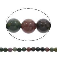 Natürliche Indian Achat Perlen, Indischer Achat, rund, 12mm, ca. 33PCs/Strang, verkauft per ca. 15.5 ZollInch Strang