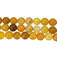 Natürliche Drachen Venen Achat Perlen, Drachenvenen Achat, rund, verschiedene Größen vorhanden & facettierte, Bohrung:ca. 1mm, Länge:ca. 15 ZollInch, verkauft von Menge