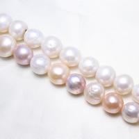 Barock kultivierten Süßwassersee Perlen, Natürliche kultivierte Süßwasserperlen, natürlich, keine, 12-16mm, Bohrung:ca. 0.8mm, Länge:ca. 15.5 ZollInch, ca. 11SträngeStrang/kg, verkauft von kg