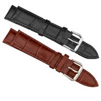 Uhrenarmbänder, Kuhhaut, Edelstahl Dornschließe, verschiedene Größen vorhanden, keine, frei von Nickel, Blei & Kadmium, verkauft von setzen