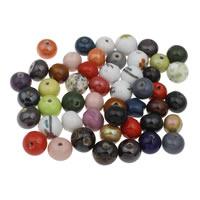Porzellan Schmuckperlen, gemischt, 10-20x30mm, Bohrung:ca. 1-3mm, ca. 240PCs/kg, verkauft von kg