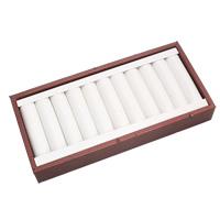 Karton Schmuckset Kasten, Fingerring & Ohrring, mit Stoff, Rechteck, 210x100x30mm, verkauft von PC