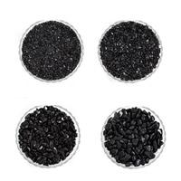 Schwarze Obsidian Perlen, Schwarzer Obsidian, Klumpen, kein Loch, 7-11mm, 50G/Tasche, verkauft von Tasche