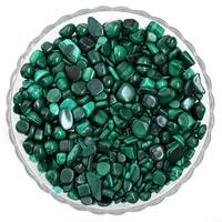 Malachit Perlen, Klumpen, kein Loch, 7-11mm, 50G/Tasche, verkauft von Tasche