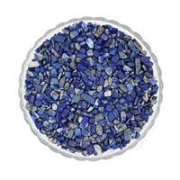 Synthetischer Lapislazuli Perlen, Klumpen, kein Loch, 7-11mm, 50G/Tasche, verkauft von Tasche