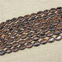 Goldsand Perle, flache Runde, synthetisch, 13x18mm, Länge:ca. 15 ZollInch, 3SträngeStrang/Tasche, ca. 20PCs/Strang, verkauft von Tasche