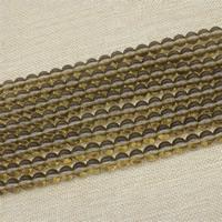 Mode Glasperlen, Glas, rund, Imitation natürlicher Quarz & verschiedene Größen vorhanden, Länge:ca. 15 ZollInch, ca. 3SträngeStrang/Tasche, verkauft von Tasche