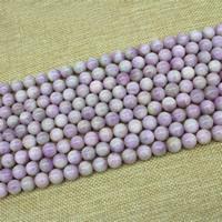 Kunzit Perlen, rund, natürlich, verschiedene Größen vorhanden, verkauft per ca. 15 ZollInch Strang