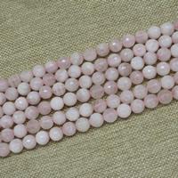 Natürliche Rosenquarz Perlen, rund, verschiedene Größen vorhanden, verkauft per ca. 15 ZollInch Strang