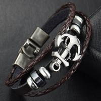 Rindsleder Armband, Kuhhaut, mit Non- magnetische Hämatit & Zinklegierung, plattiert, verschiedene Stile für Wahl & für Frau & 3-Strang, frei von Nickel, Blei & Kadmium, verkauft per ca. 7.5 ZollInch Strang
