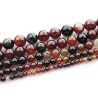 Natürliche traumhafte Achat Perlen, Traumhafter Achat, rund, verschiedene Größen vorhanden, verkauft per ca. 15 ZollInch Strang