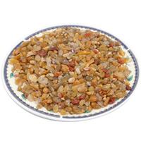 Natürliche gelbe Achat Perlen, Gelber Achat, Klumpen, kein Loch, 3-10mm, ca. 1000PCs/kg, verkauft von kg